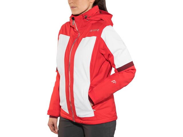 Maier Sports Valisera Chaqueta de esquí mTex Mujer, poinsettia